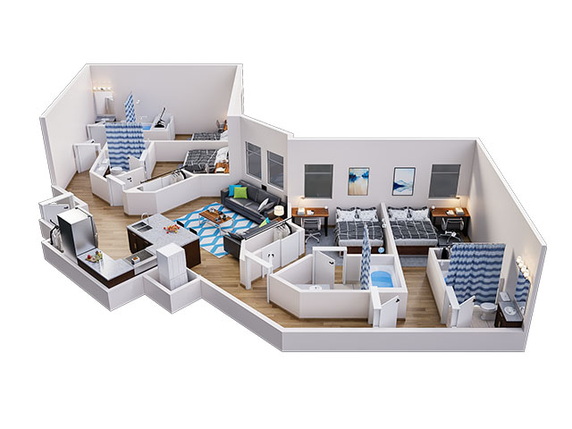 Lark C Floor plan layout