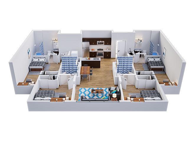 Lark D Floor plan layout