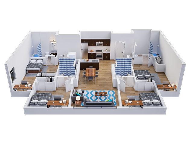 Lark E Floor plan layout