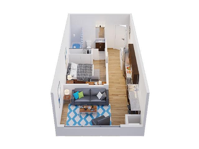 Hudson Floor plan layout